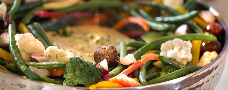 Vegetable Dip -Wedding Menu Options - Wedegwood Weddings & Events