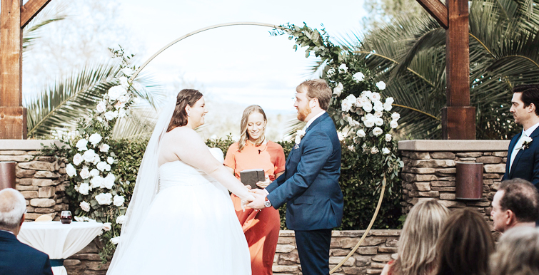 Wedding Ceremony Officiant - Menifee Lakes by Wedgewood Weddings