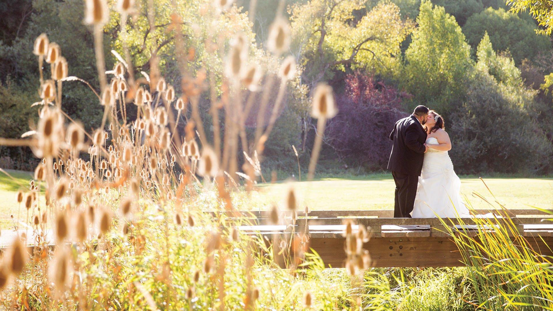 Wedding Kiss - Redwood Canyon by Wedgewood Weddings