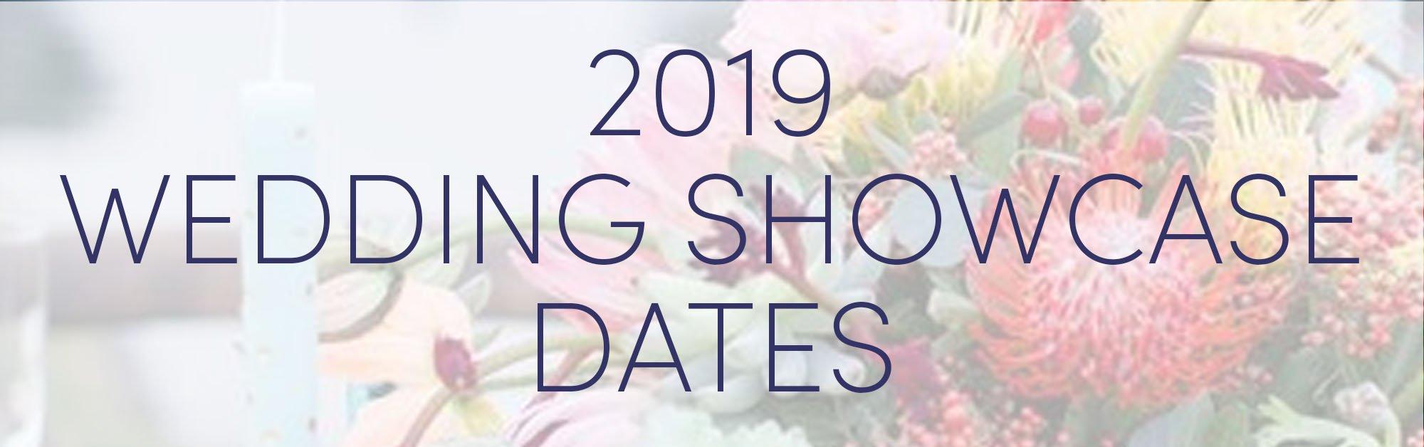Wedding Showcase Dates 2019 Wedgewood Weddings