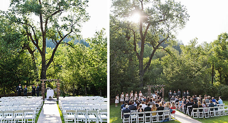 Wedgewood Weddings Boulder Creek Michael Ceremony
