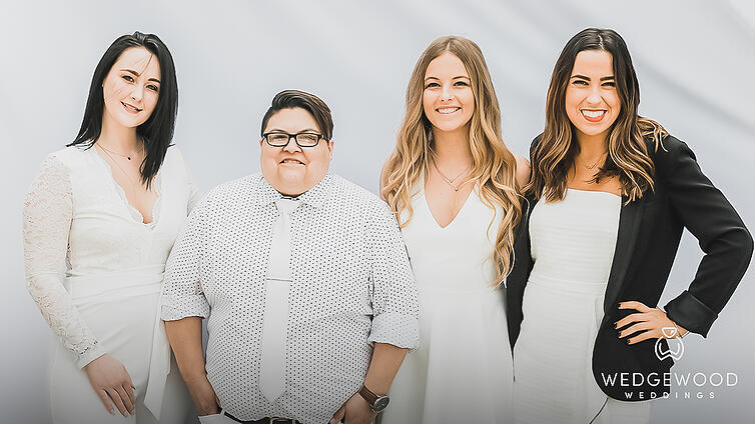 Wedgewood Weddings Team Photo 2019 1