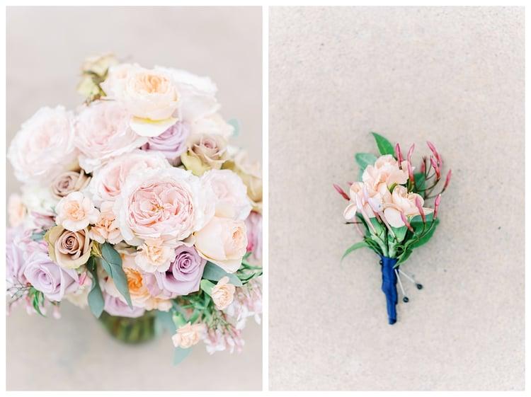 Pastel Wedding Bouquet by Flower Divas