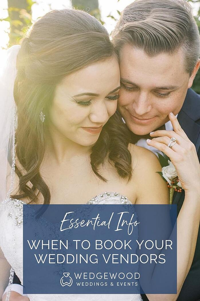 Wedding planning? There's a science to getting the best service, vendor availability, and pricing. A wedding industry pro with 10+ years of experience explains why booking your vendors by THIS date will ensure better availability for your top-choice vendors and an overall awesome wedding planning experience.