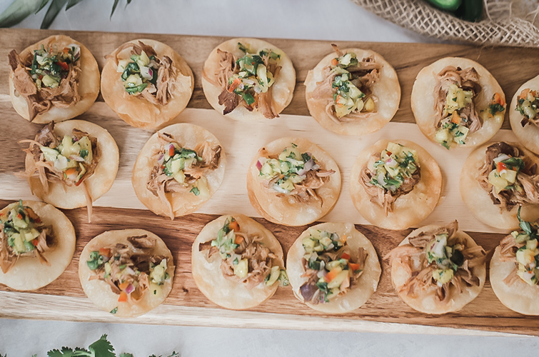Delicious Appetizers Catering to Every Pallet
