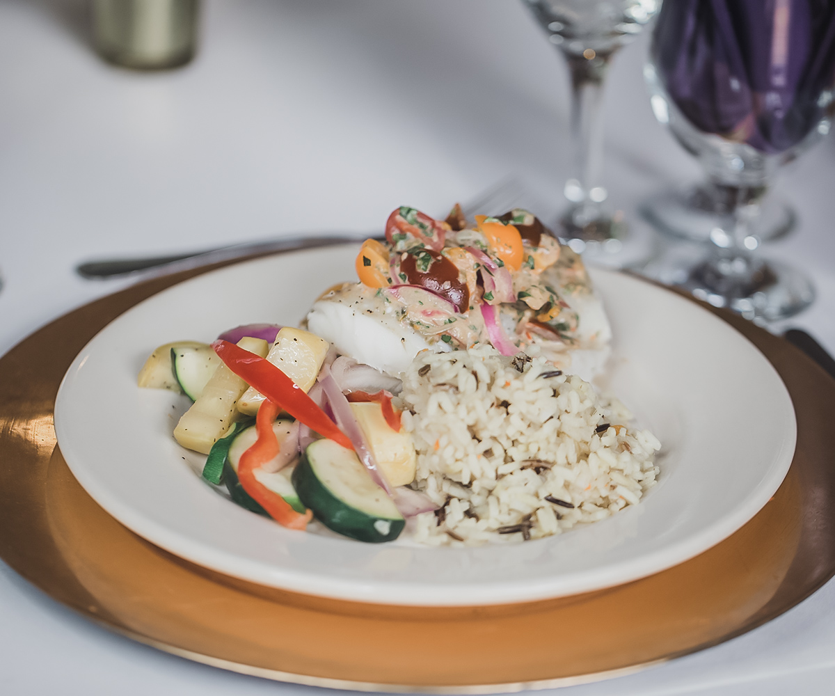 Presentation is Key with Wedgewood Weddings Meal Service
