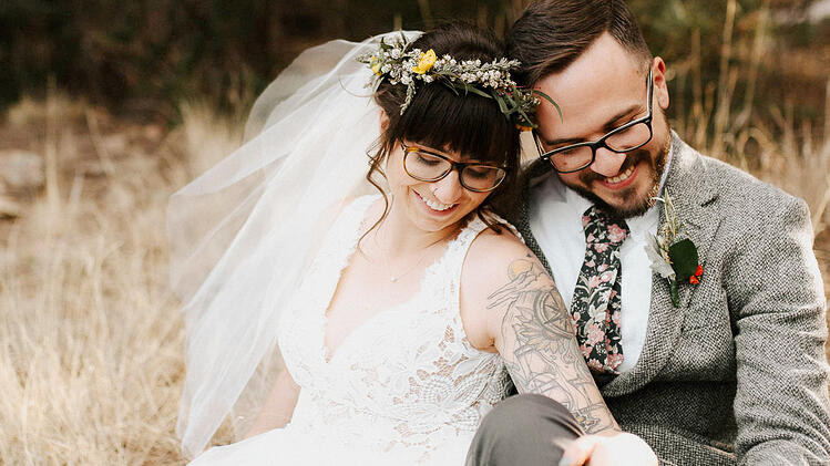 Alyssa & Chris' Tattooed Wedding at Mountain View Ranch