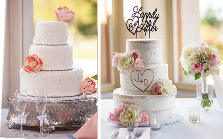 beautiful cake options - wedgewood weddings