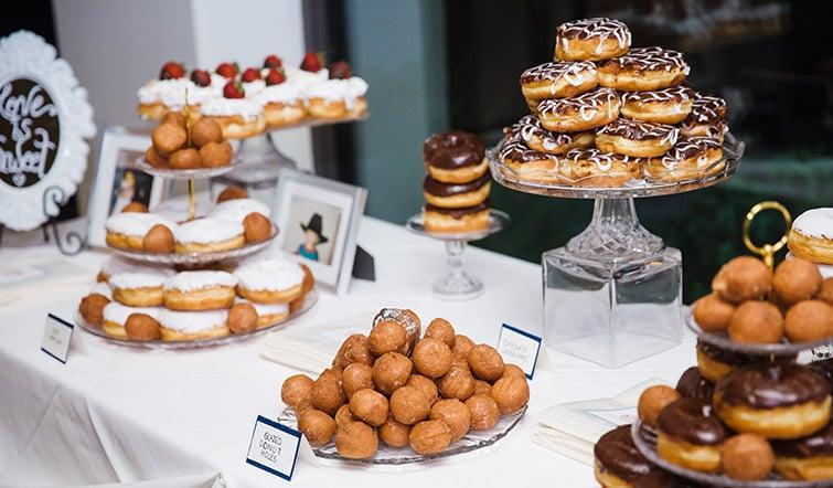 beautiful dessert options - wedgewood weddings