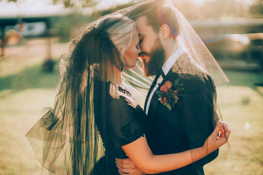 Bright & Romantic Gothic Farm Wedding