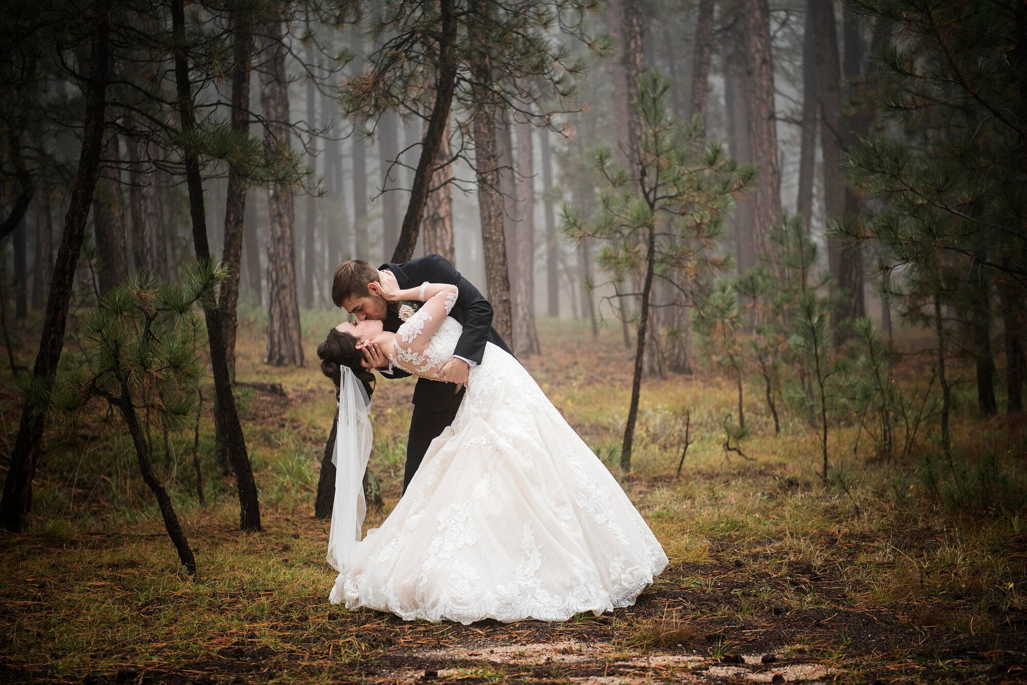 fall wedding at Black Forest by Wedgewood Weddings