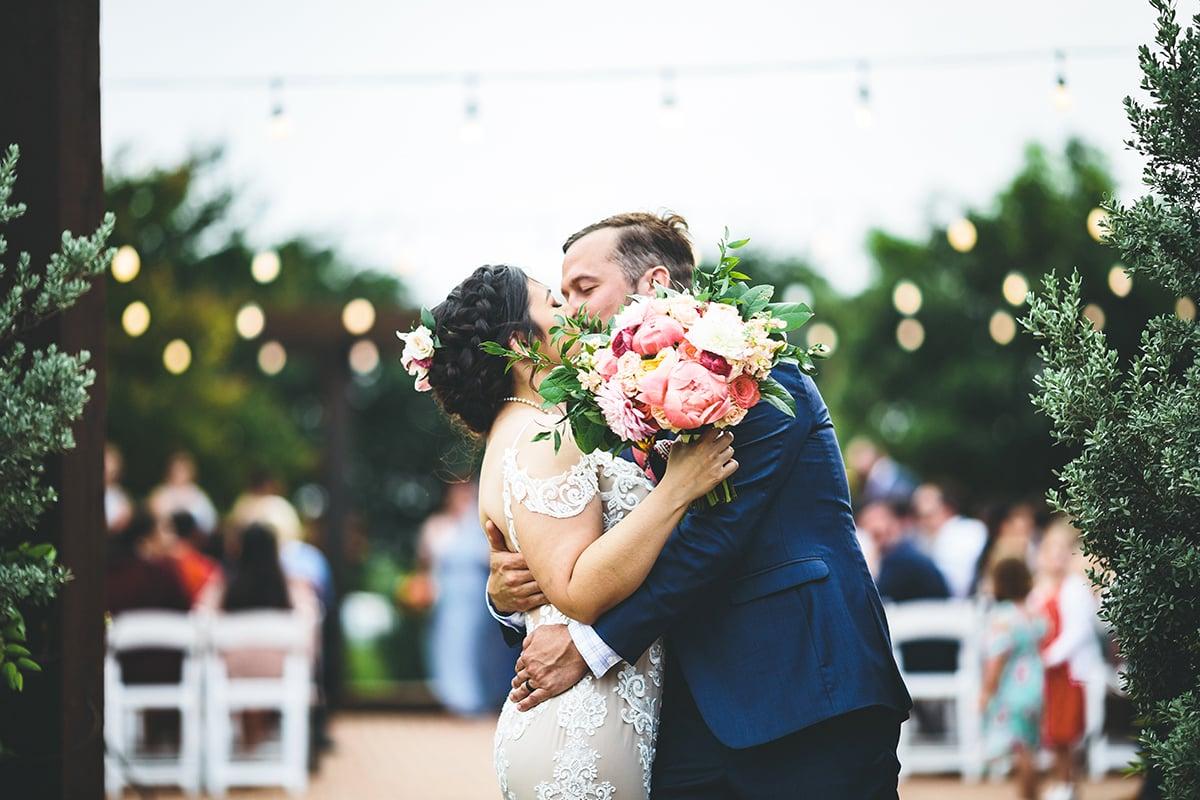 Outdoor Wedding at Hofmann Ranch in Castroville, TX