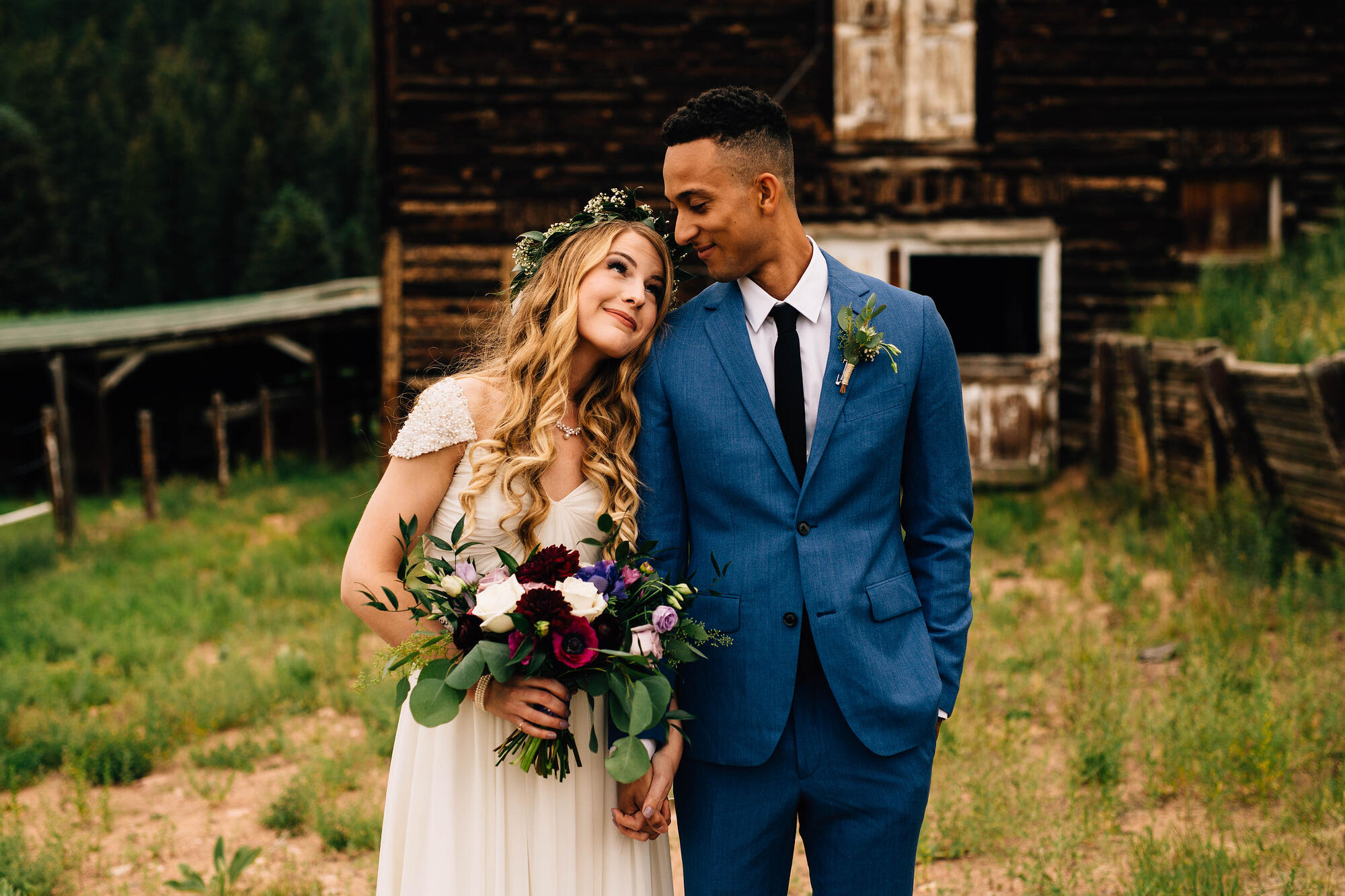 dreamy autumn wedding at Mountain View Ranch by Wedgewood Weddings