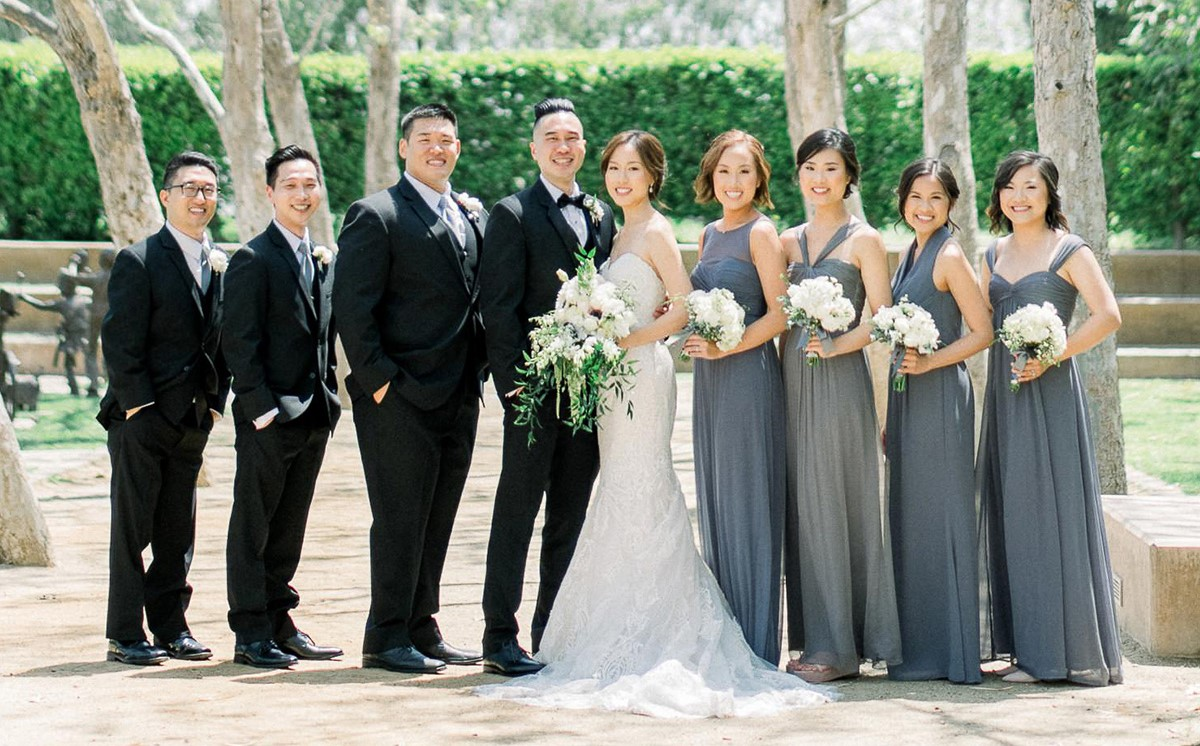 Bridal Party at Rio Hondo by Wedgewood Weddings