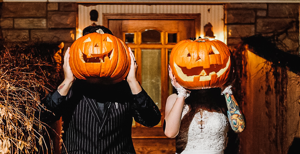 Halloween wedding at Tapestry House by Wedgewood Weddings