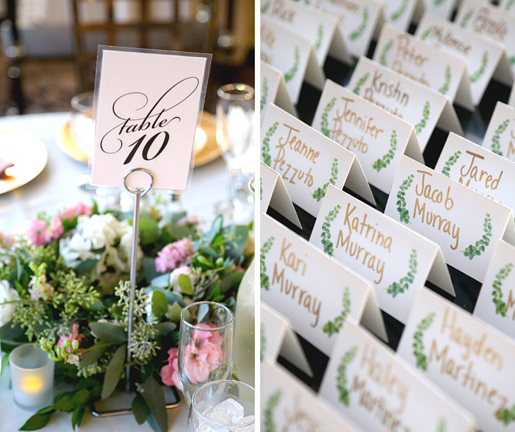 THE BOTANICAL WEDDING DECOR ADDED A TOUCH OF WHIMSY TO THE ENTIRE EVENT