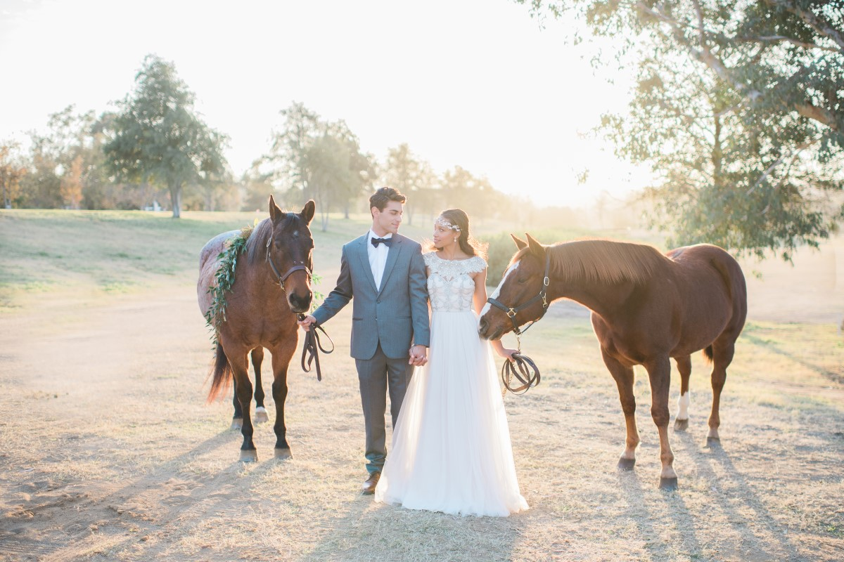 Galway Downs is an Inland Empire wedding venue complete with horses and a carriage house