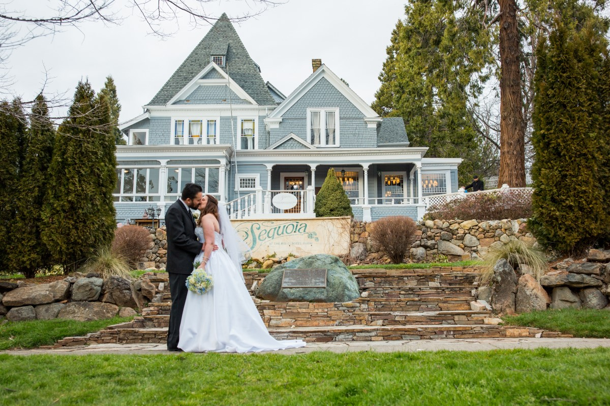 Sequoia Mansion is a vintage estate wedding just outside of Sacramento