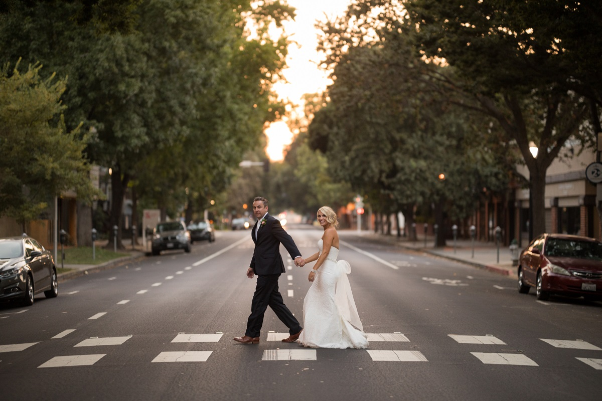 Explore Downtown Sacramento on foot from the wedding venue at Sterling Hotel