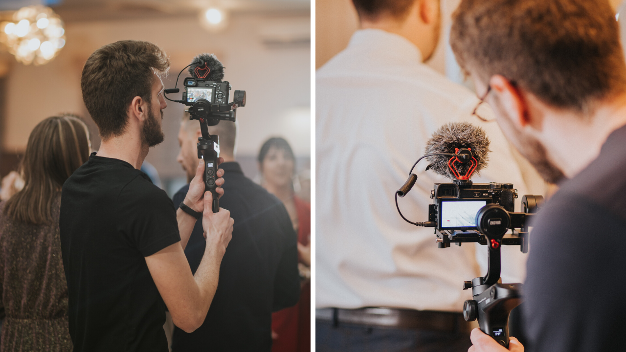 hiring a videographer to live stream your wedding