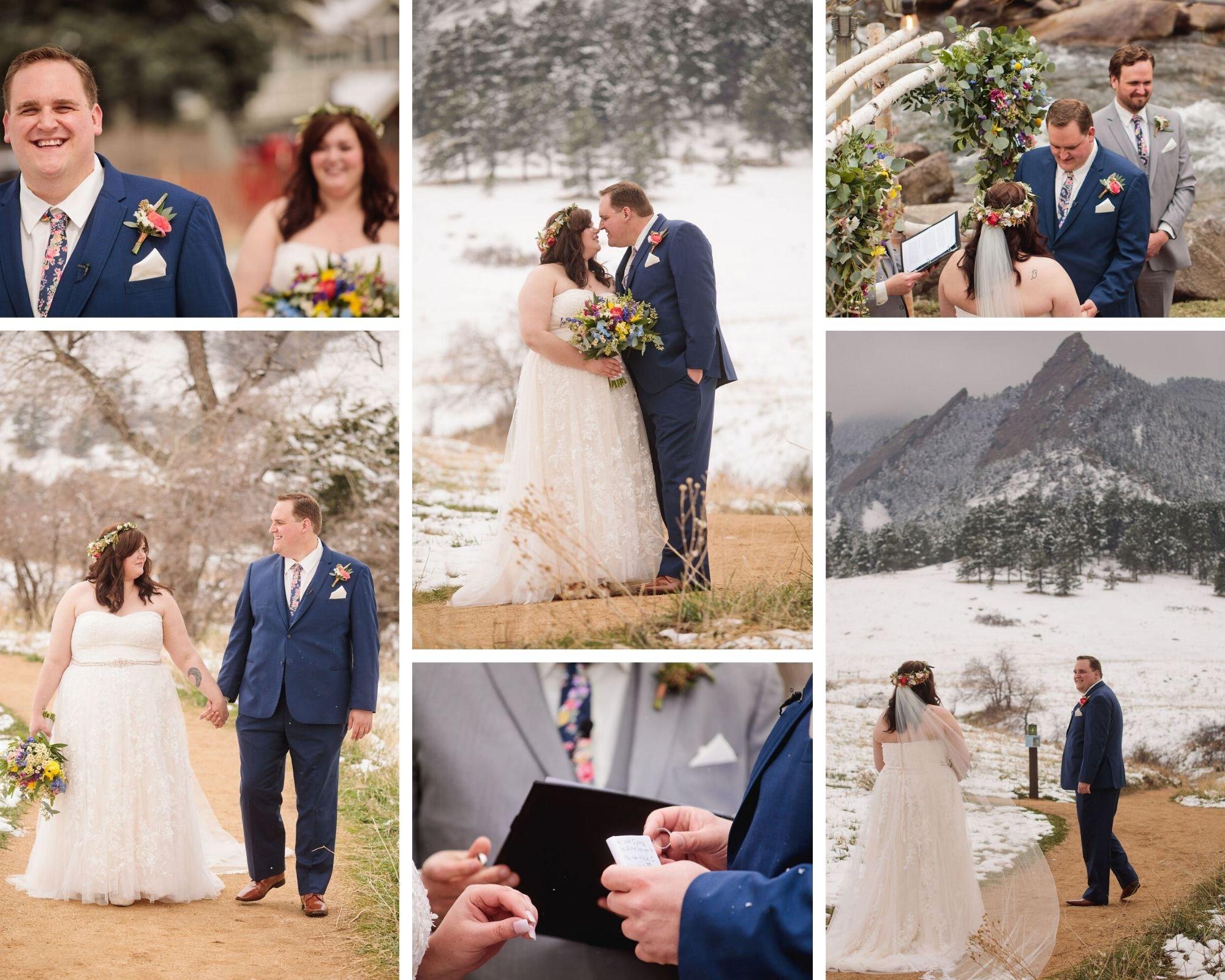 Fresh Winter Wedding at Boulder Creek by Wedgewood Weddings