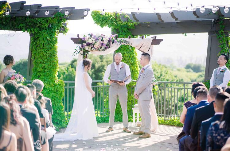 Marin County Wedding Ceremony in Novato, CA