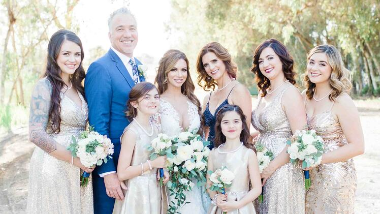 The Bride's Family at The Orchard in Menifee, CA