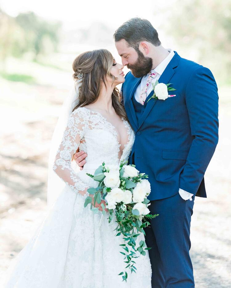 Cody & Lindsey on their perfect Southern California wedding day
