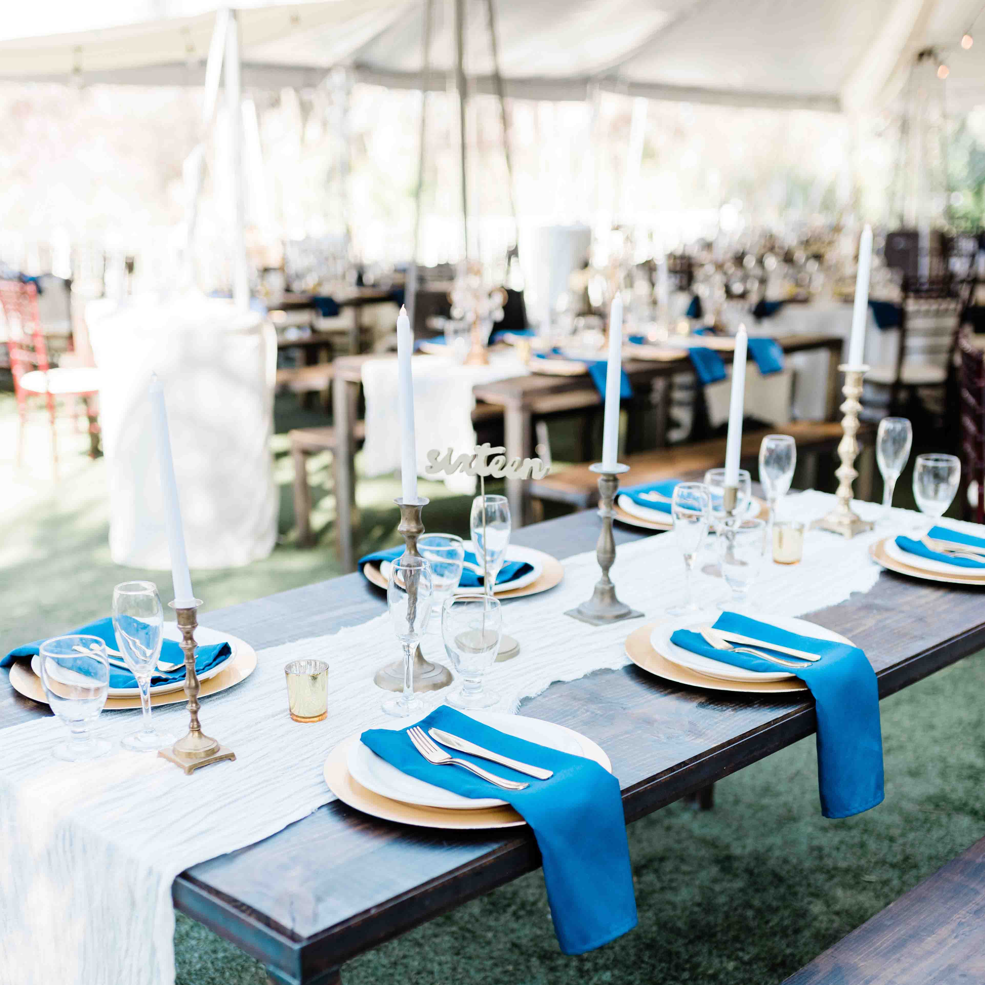Elegant Outdoor Wedding Reception at The Orchard
