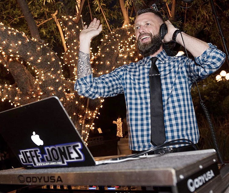 DJ Jeff Jones of Direct Sounds DJ in Arizona