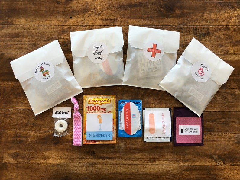 emergency party favor kit
