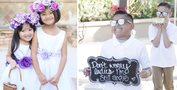 Flowergirls & Ringbearers - Wedgewood Weddings