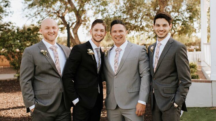 Mix & Match Groomsmen Suits
