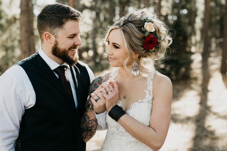 Wedgewood Weddings Winter theme