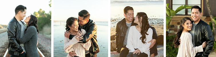Gorgeous Engagement Photos in Carlsbad By The Sea