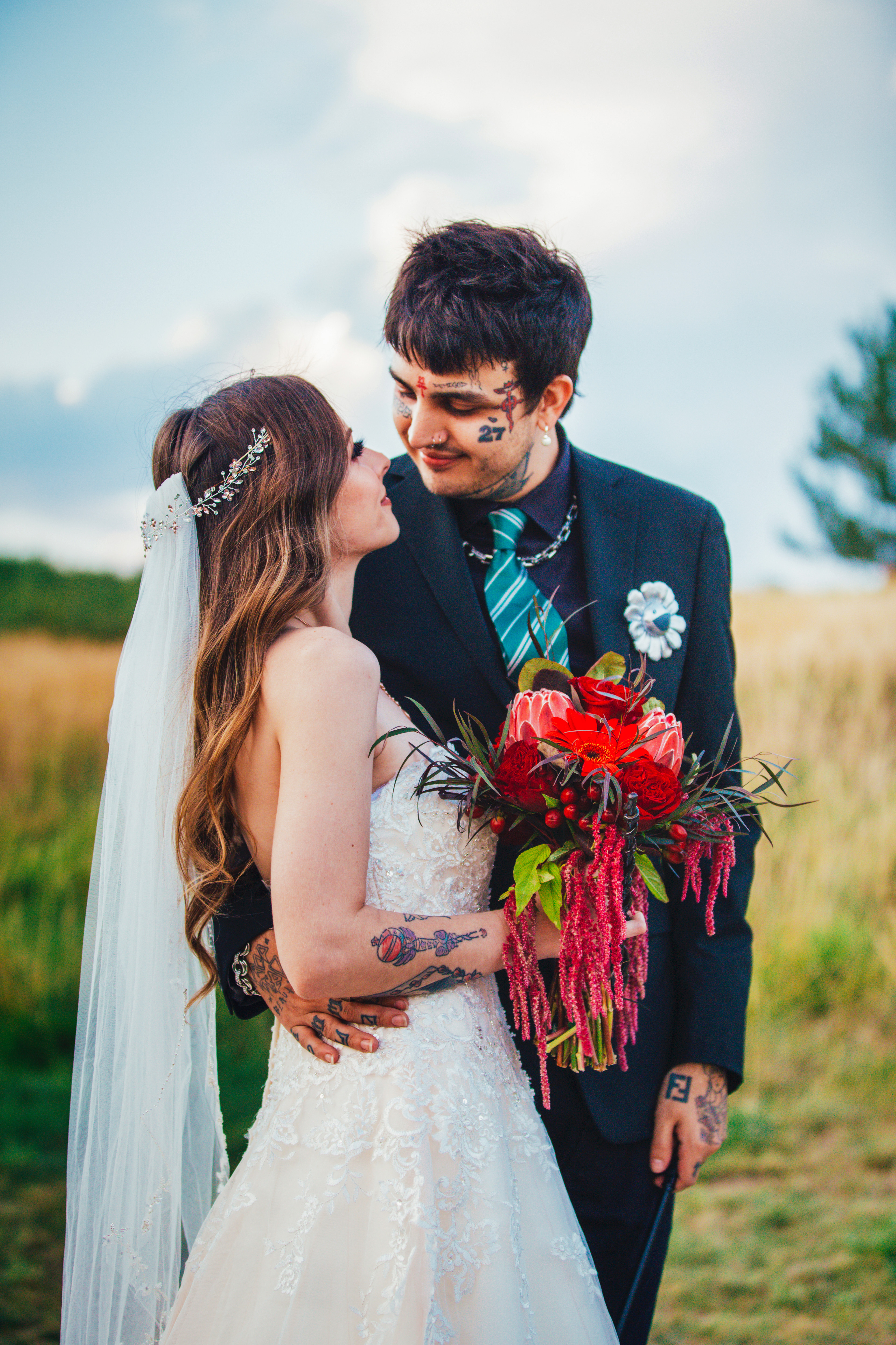 Bright and Bold Harry Potter Wedding Colors