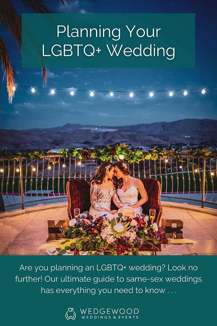 Are you planning an LGBTQ+ wedding? Look no further! Our ultimate guide to same-sex weddings has everything you need to know, including considerations, tips, and top inclusive wedding venues worth touring. It's time to celebrate your love and create a special day filled with joyous memories. Gay friendly and welcoming to all...