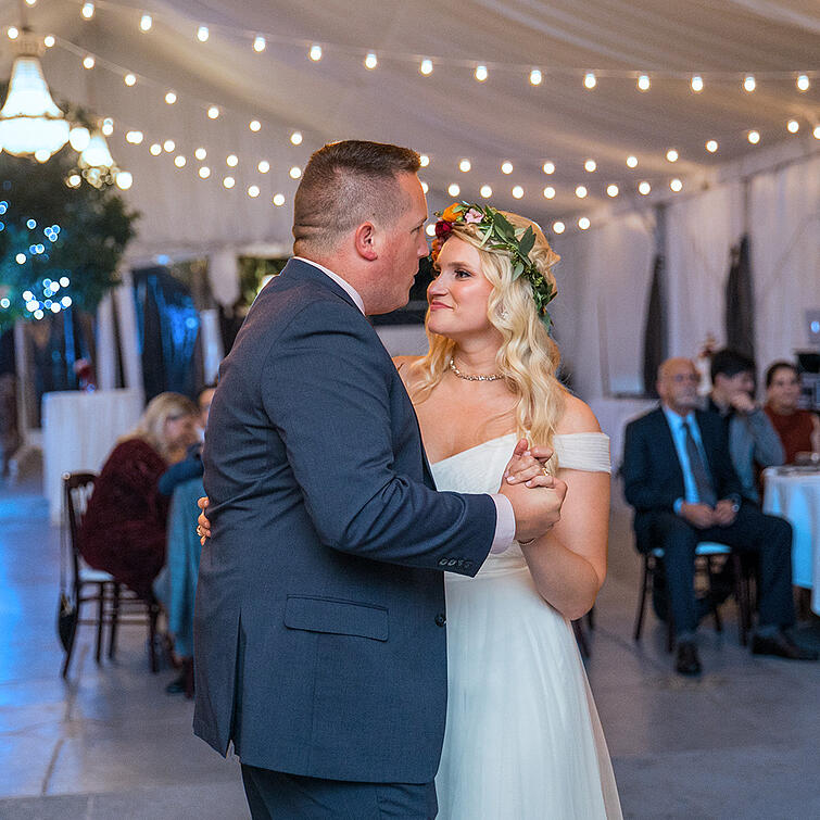 Father Daughter Dance at Jefferson Street Mansion by Wedgewood Weddings