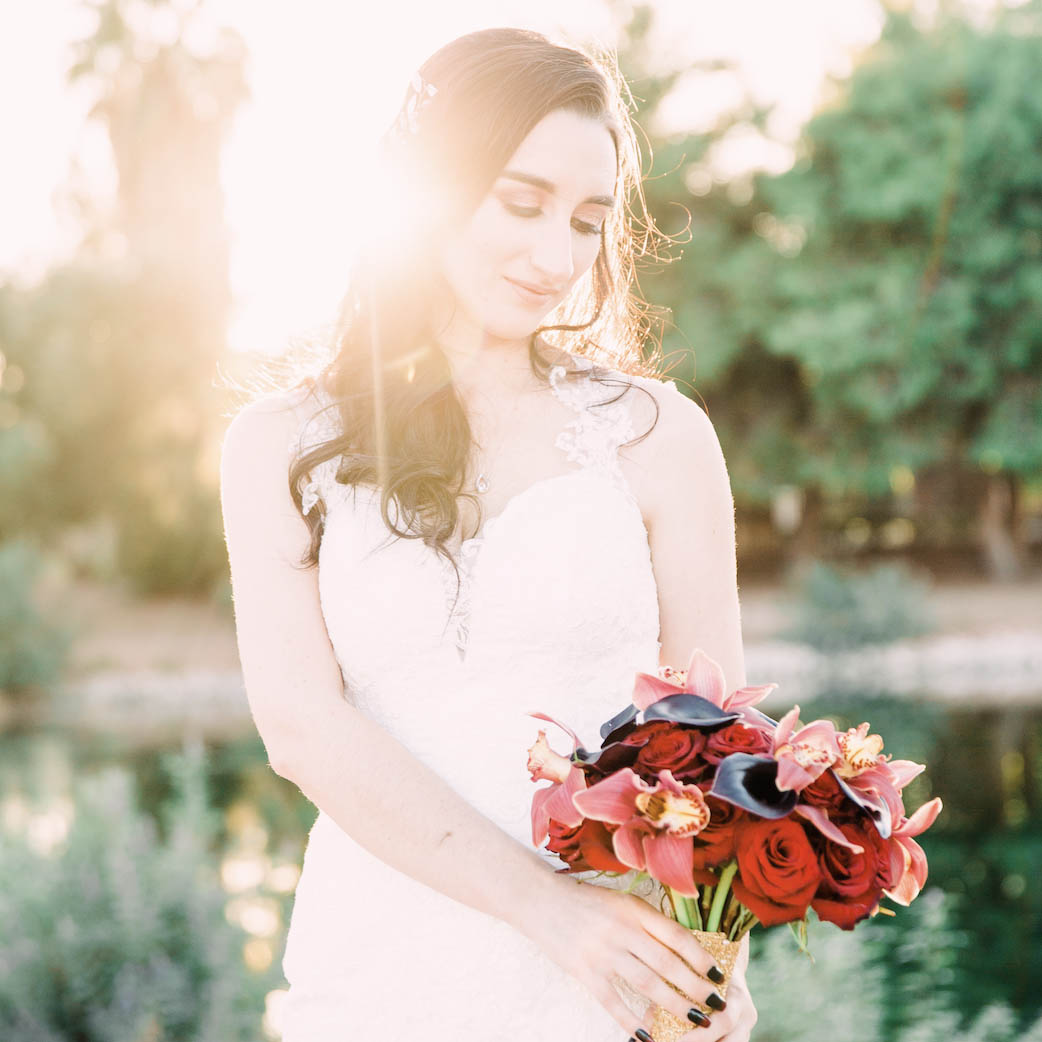 Gothic Wedding at Stallion Mountain in Las Vegas, NV