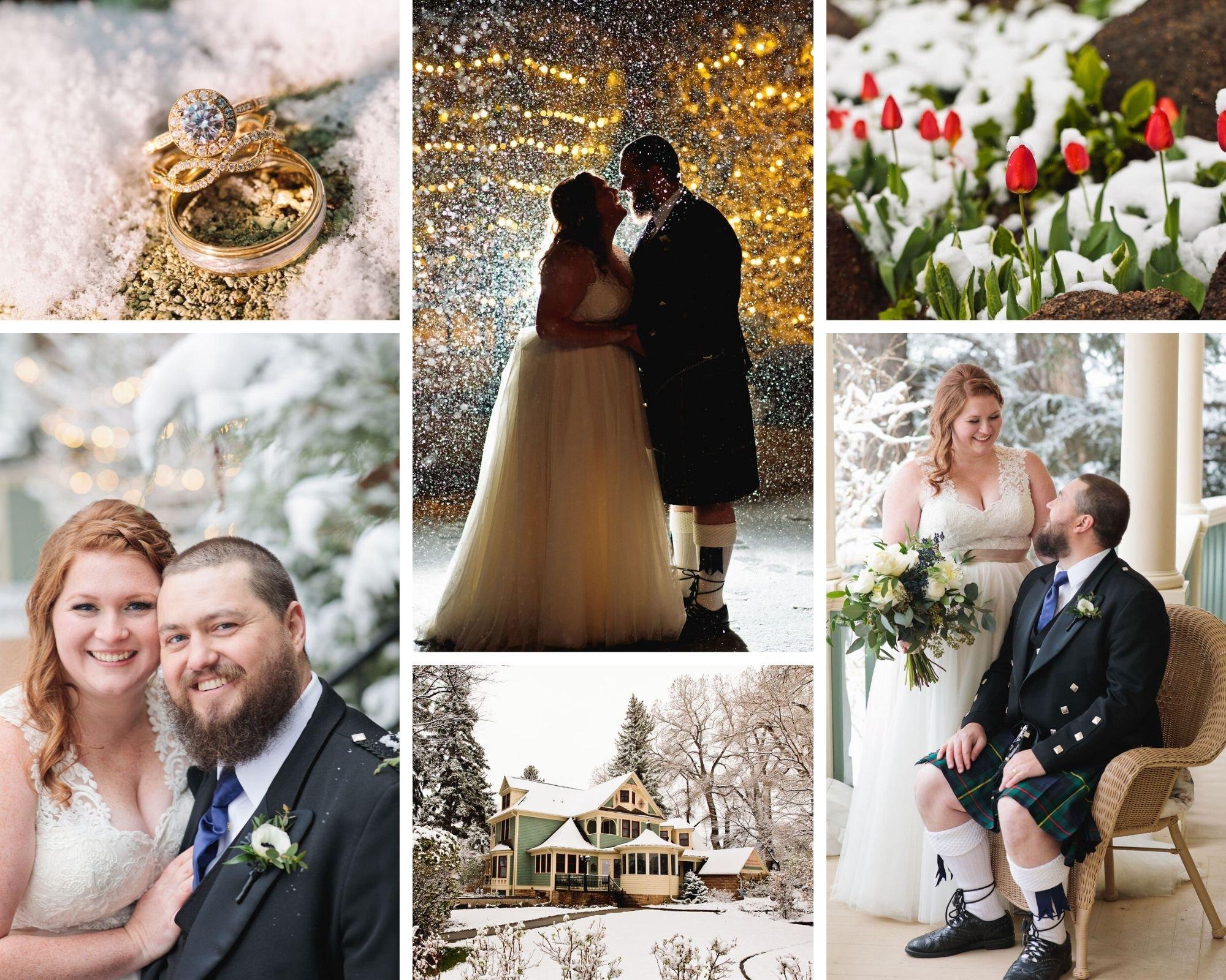 Winter Wonderland at Tapestry House by Wedgewood Weddings