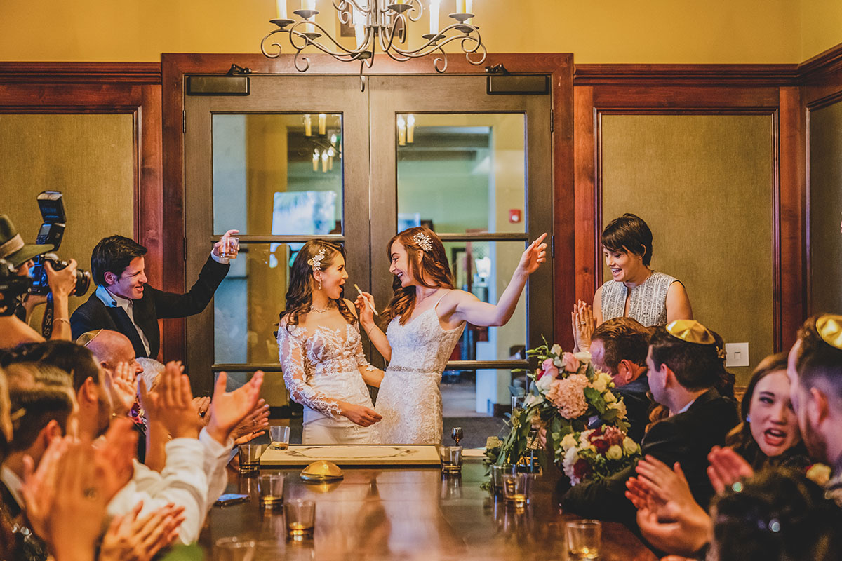 Traditional Jewish Ketubah Signing | The Retreat by Wedgewood Weddings | Beautiful Day Photography