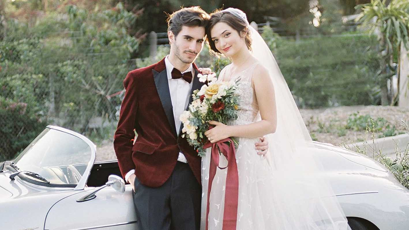Velvet Suit Jacket Ideas for Wedding