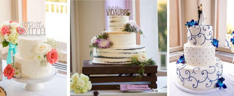 wedding cake styles - wedegwood weddings