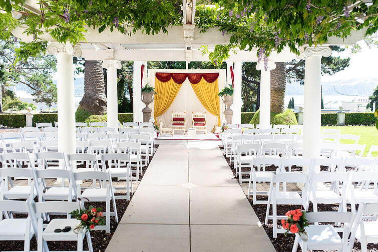 Rich yet Simple and Elegant Ceremony Style at Jeffreson Street Mansion by Wedgewood Weddings