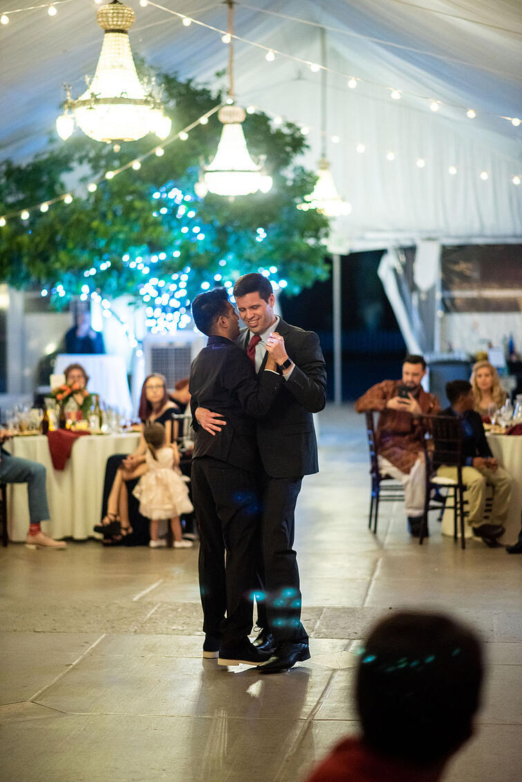 First Dance For Zach and Karthic, Jefferson Street Mansion by Wedgewood Weddings