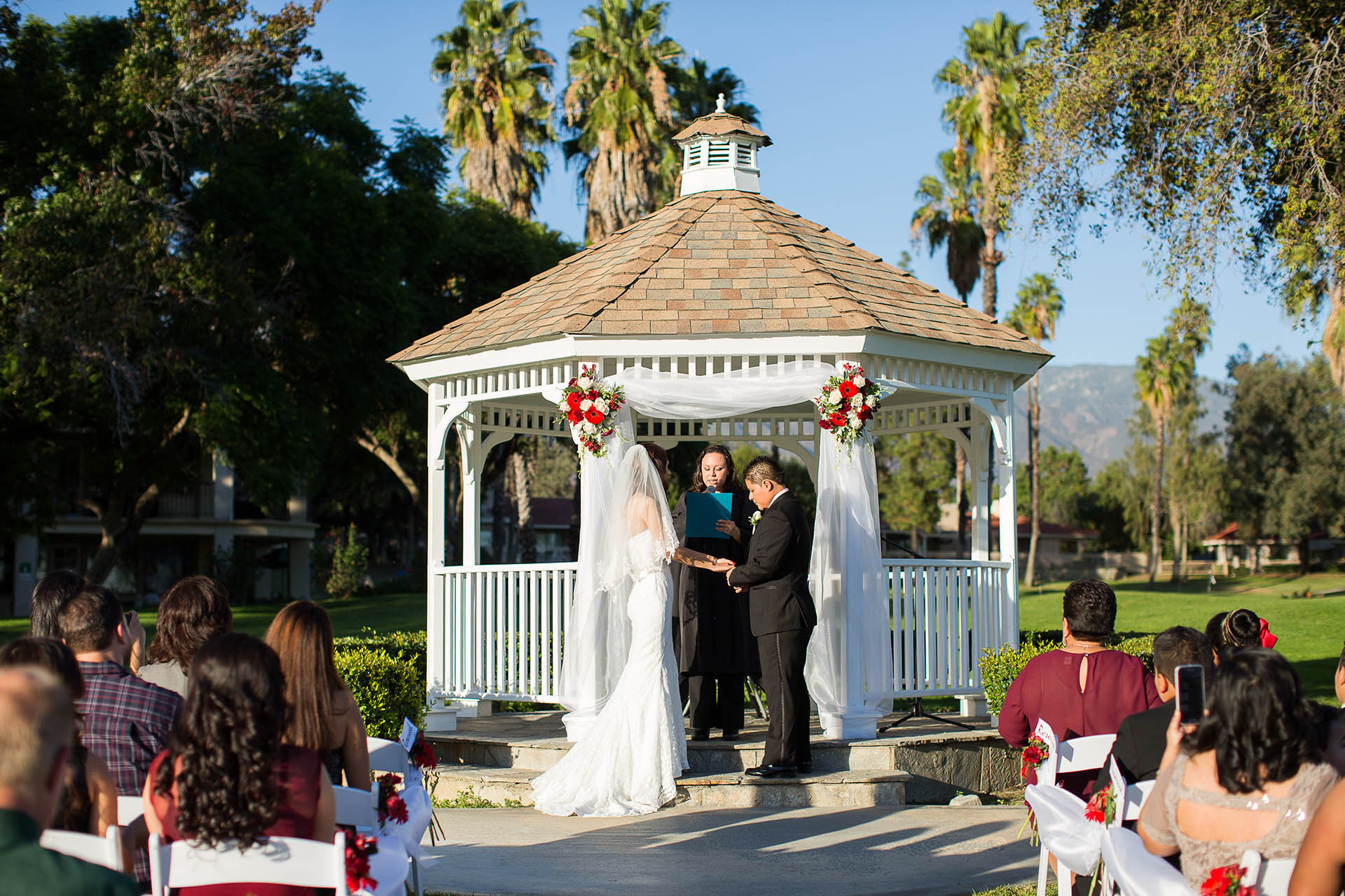 Traditional gazebo ceremony site