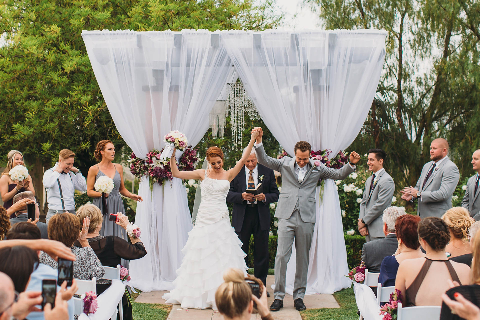 Outdoor Wedding Ceremony: Wedgewood Weddings