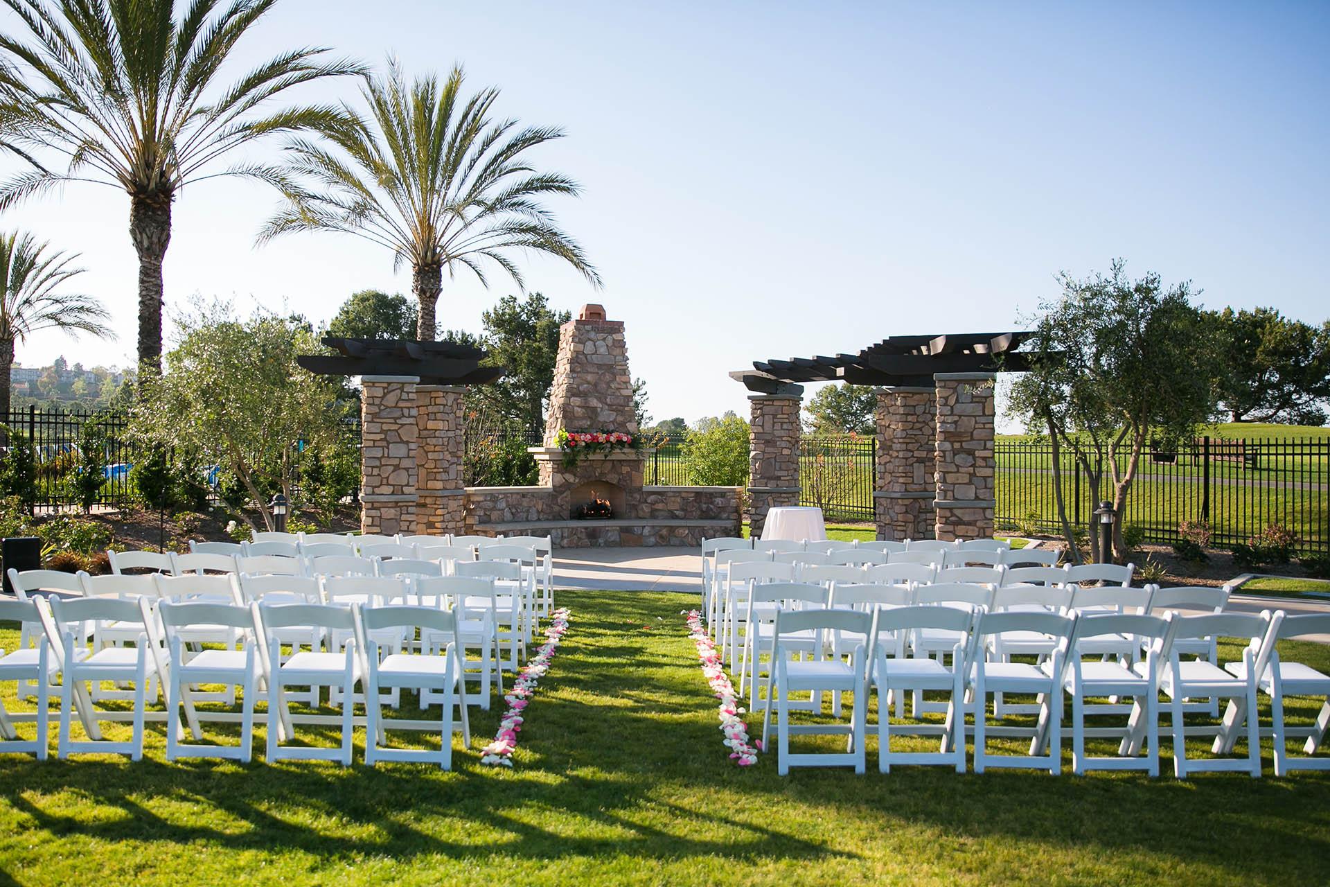 Aliso viejo wedgewood weddings stunning wedding ceremony lawn junglespirit Images