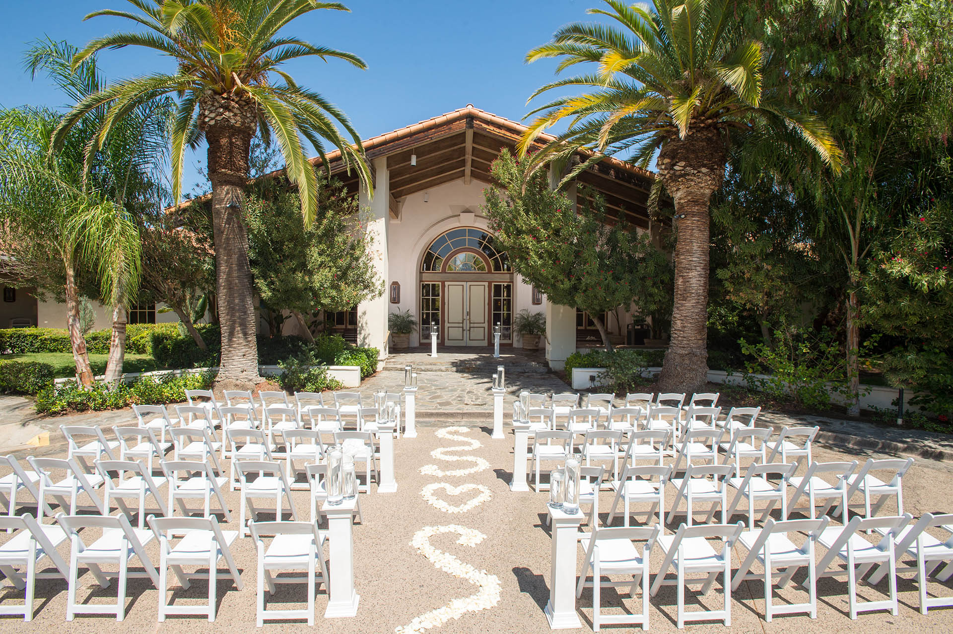 Multiple ceremony sites to choose from