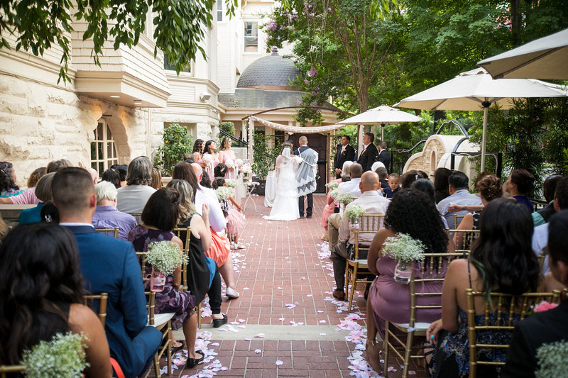 Patio Ceremony For Intimate Weddings